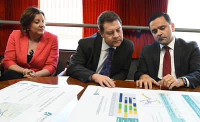 Page exige a Rajoy presupuesto para la modernización del tren de mercancías a su paso por CLM