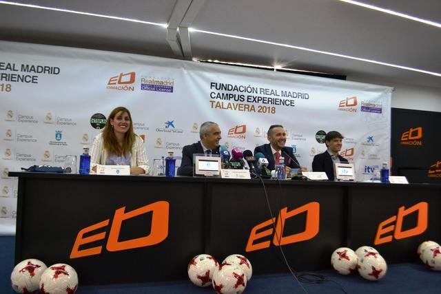 El Campus Experience Fundación Real Madrid llega a Talavera gracia a Ébora Formación