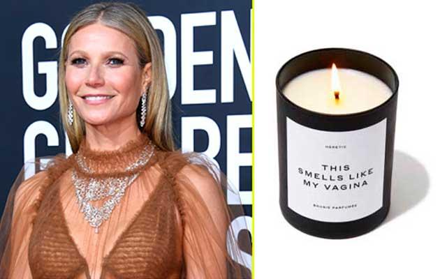 La 'talaverana' Gwyneth Paltrow agota las velas que 'huelen como su vagina'