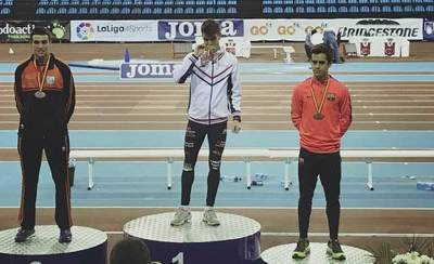 Sergio Paniagua se proclama campeón de España promesa de 1.500