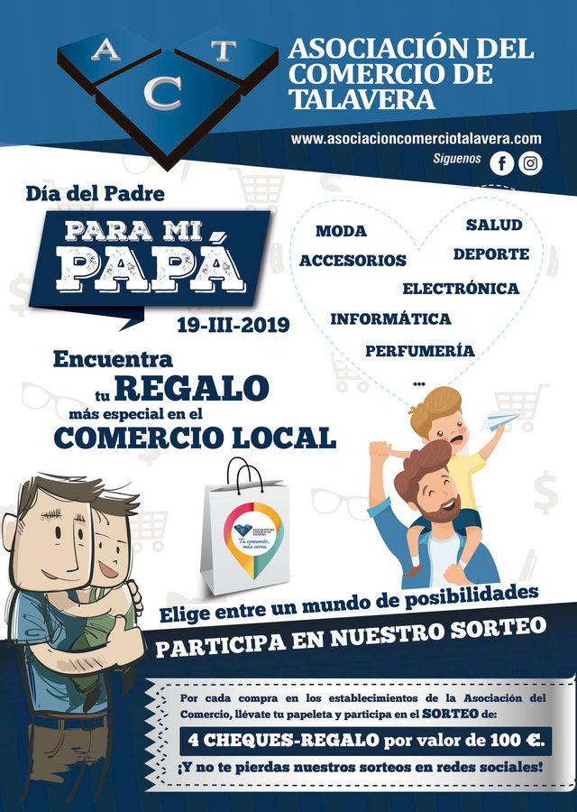 El comercio local pone en marcha la campaña #paramipapá con motivo del Día del Padre