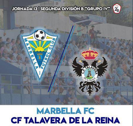 Pese a la lucha, el Talavera no logra vencer al Marbella FC