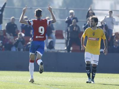 El CF Talavera se desinfla ante el Club Recreativo Granada
