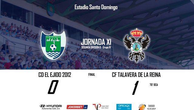 Oca da la victoria al CF Talavera en tierras andaluzas