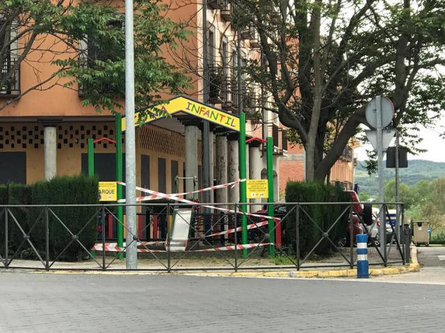 TALAVERA | Decretan el cierre de los parques infantiles