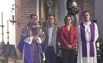 Inauguración de las obras de la Parroquia San Andrés Apóstol de Belvís de la Jara