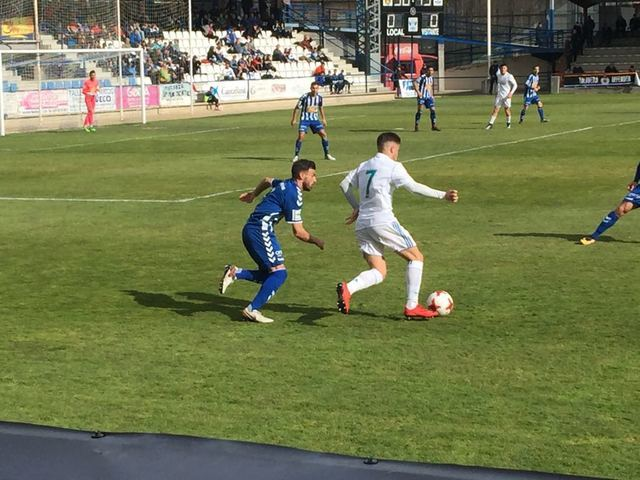 Un gran CF Talavera vence en casa a un Real Madrid Castilla luchador
