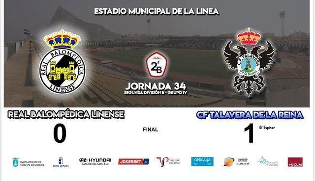 El CF Talavera consigue la salvación tras el partido de hoy