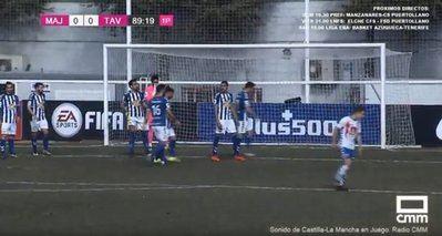 Empate a cero entre el Rayo Majadahonda y el CF Talavera