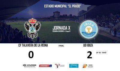 El Talavera no logra dominar a la UD Ibiza en 'El Prado'