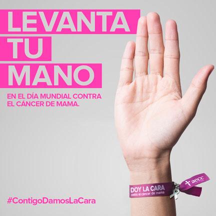 Levanta tu mano para visibilizar y luchar contra el cáncer de mama en Talavera