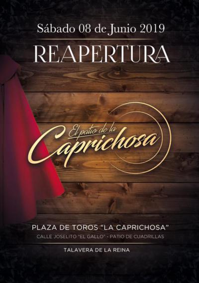 Vuelve 'El Patio de La Caprichosa', la terraza más exclusiva