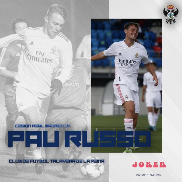 Pau Russo aterrizará la próxima temporada en el CF Talavera