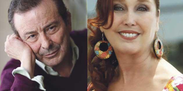 Verónica Forqué y Juan Diego, Pávez Honorífico 2019