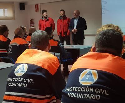 CLM forma a los voluntarios de Protección Civil en extinción de incendios en vegetación