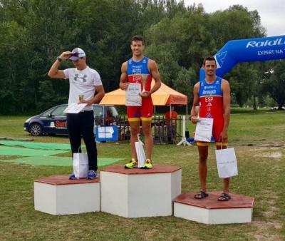 Enrique Peces, campeón del Mundial Sprint de Cuadriatlón en Komarno
