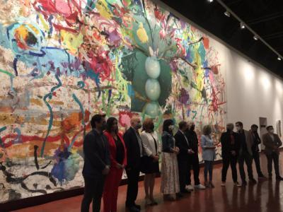 Pedro Almodóvar presenta en Toledo su faceta como pintor