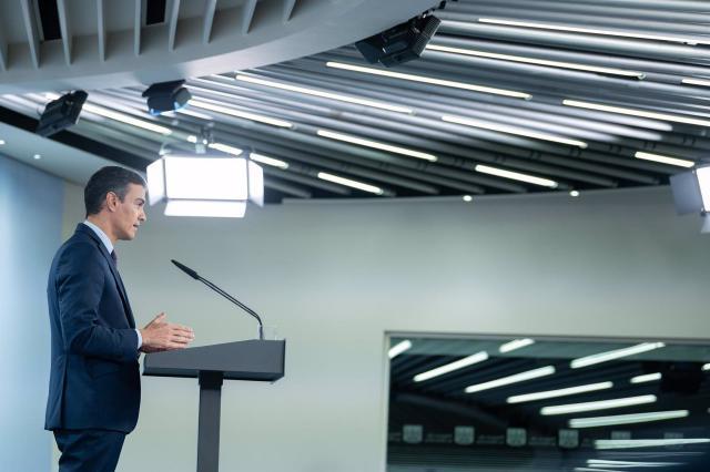 Pedro Sánchez, presidente del Gobierno   Europa Press