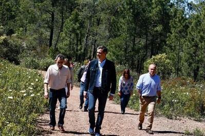 Pedro Sánchez pasa la jornada de reflexión en Castilla-La Mancha, en el pueblo natal de su padre