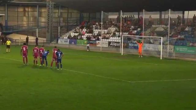 Así se adelantaba, de penalti, el CF Talavera ante el Valladolid B (VÍDEO)
