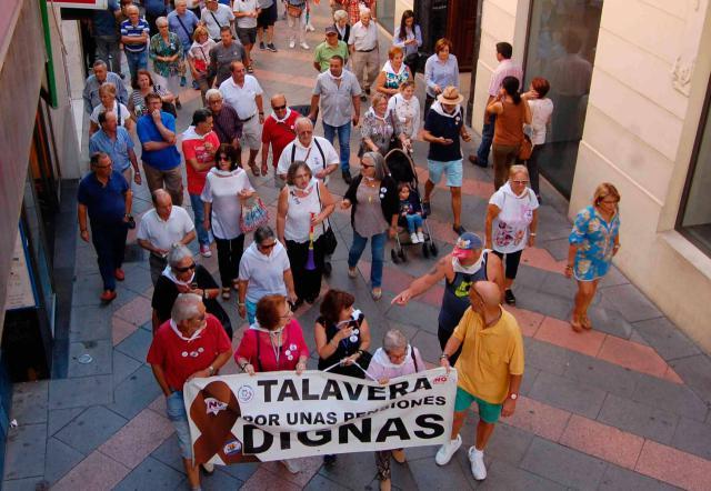 Avisan de cortes de tráfico por la manifestación en defensa de las pensiones