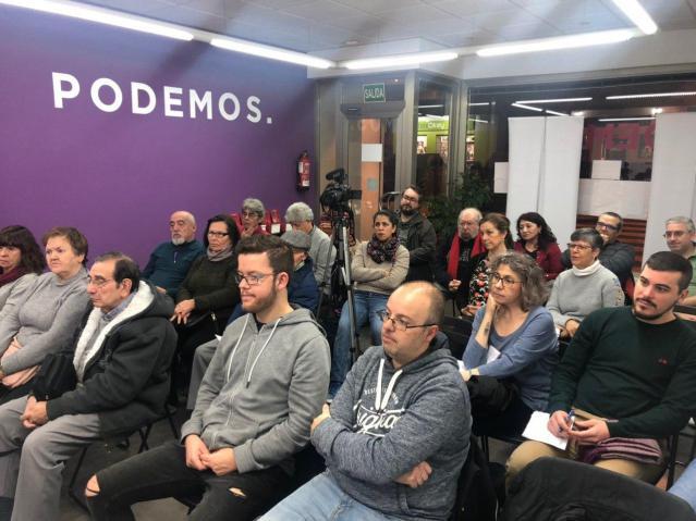 COMUNICADO DESDE LA SEDE PROVINCIAL DE PODEMOS AL BARRIO DE SANTA BARBARA