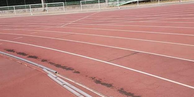 Por fin comienzan las obras en la pista municipal de atletismo