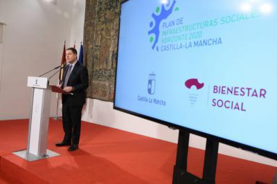 Plan de Infraestructuras Sociales Horizonte 2020: 42 millones de euros de inversión económica y social en CLM