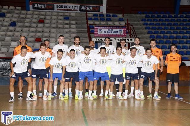 La plantilla del Soliss FS Talavera en su vuelta a los entrenamientos / Foto: FS Talavera