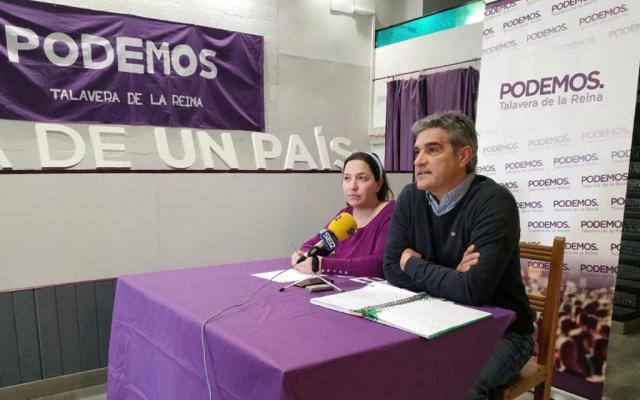 Podemos cree que Cs y VOX apoyarán a Ramos para que vuelva a gobernar Talavera