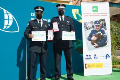 Reconocimiento para la Policía Local de El Casar de Escalona