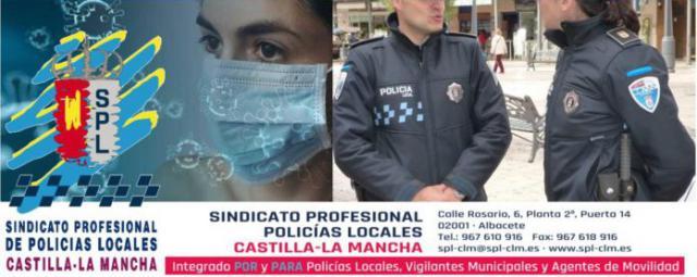 CORONAVIRUS   Los Policías Locales se ponen a disposición de las administraciones