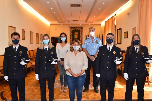 TALAVERA | La Policía Local suma 4 nuevos agentes