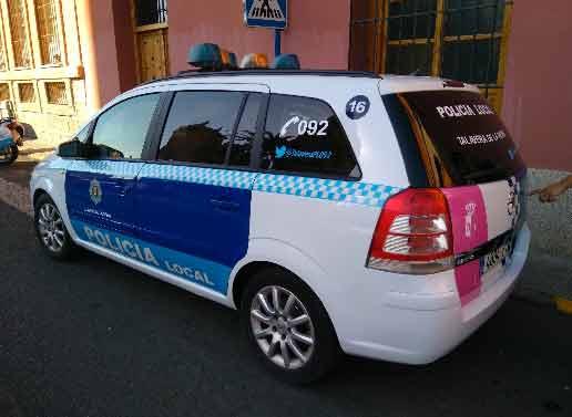 La Policía Local recupera en Talavera un vehículo robado en Madrid