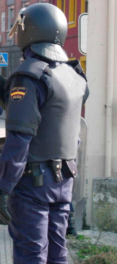 Un policía nacional de Talavera nos cuenta su experiencia en Cataluña: 'Hay un antes y un después del 1-0