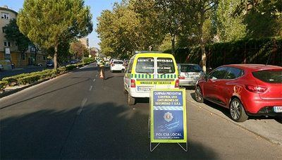 Los nuevos límites de velocidad llegan con una campaña de control en Talavera