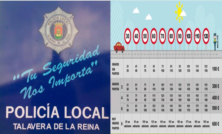 La Policía Local inicia una campaña de control de velocidad en Talavera