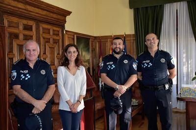 Dos nuevos agentes de Policía Local en Talavera