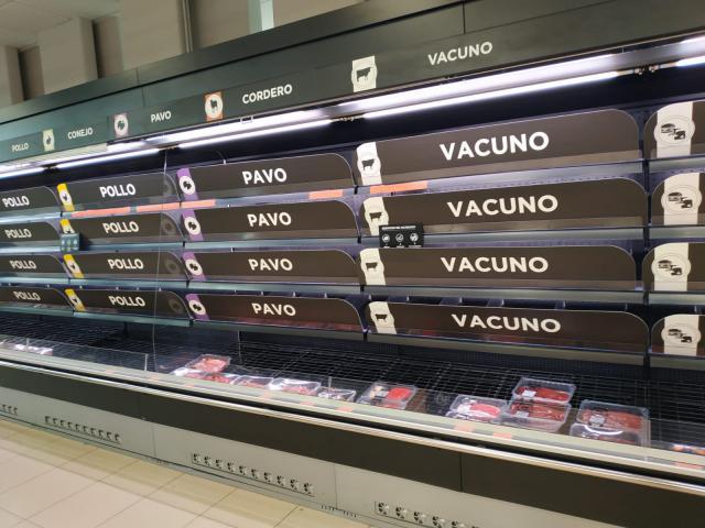 CORONAVIRUS   Las compras compulsivas en los supermercados llegan a Talavera y Toledo
