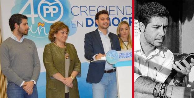 Javier Porras (PP), condenado por haber faltado al honor a Tita García
