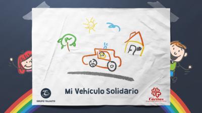 VÍDEO   Grupo Talauto donará 1 kilo de alimentos a Cáritas por cada dibujo