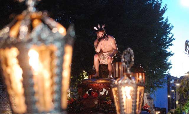 Talavera vivió la emoción de la Procesión del Santo Entierro