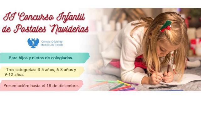 II Concurso de postales navideñas para niños de entre 3 y 12 años