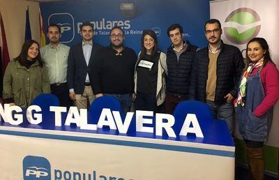 Roberto García inicia su campaña en Talavera de la Reina