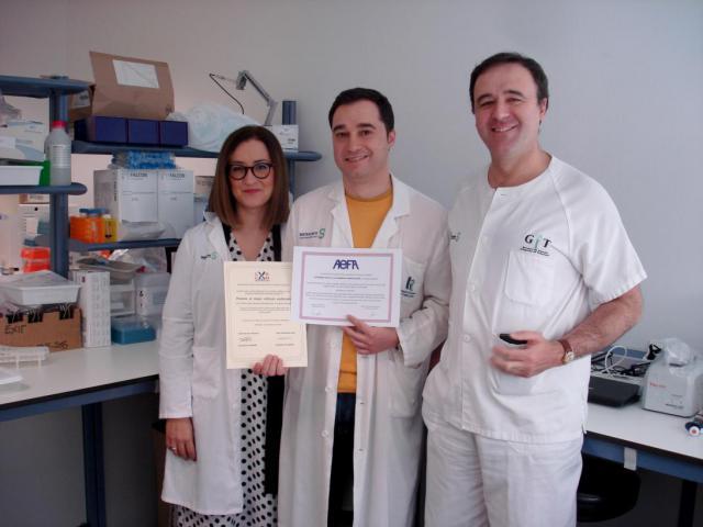 Dos premios a un facultativo de las gerencias de Villarrobledo y Tomelloso