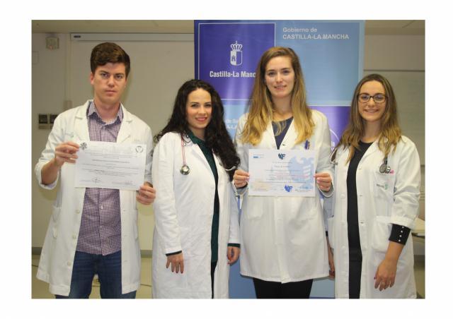 Residentes de medicina de Toledo, galardonados con dos premios en el II Congreso de Médicos Jóvenes