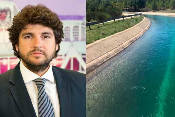 El presidente de Murcia dice que el agua 'no acepta títulos de propiedad' y defiende el trasvase Tajo-Segura