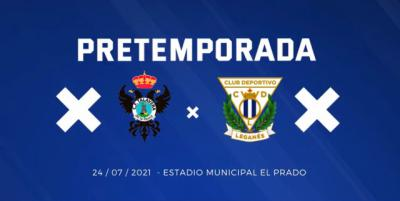 El CF Talavera empieza la pretemporada contra el CD Leganés