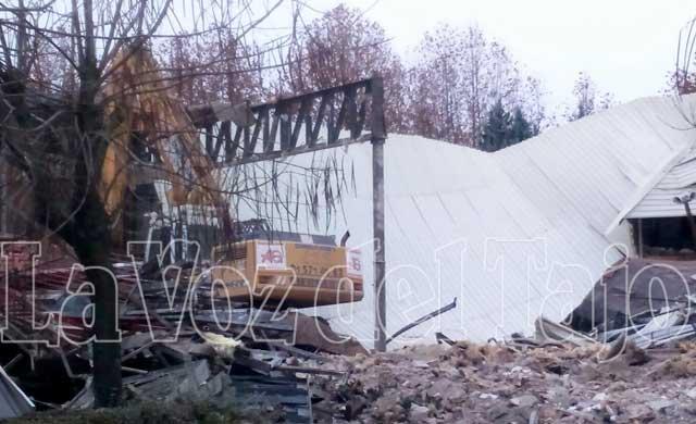 Comienzan las obras de demolición de la iglesia 'San Juan de Ávila'