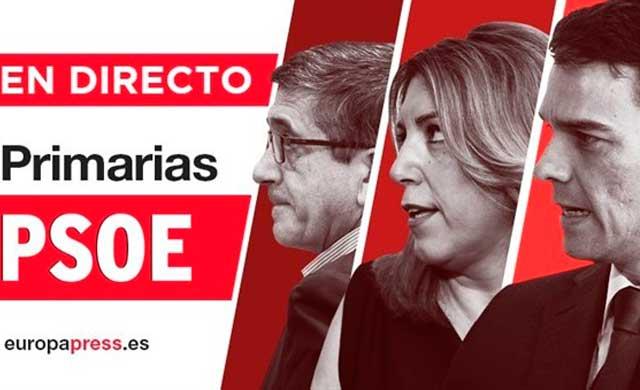 Pedro Sánchez gana las primarias a la secretaría general del PSOE